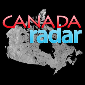 Canada Radar - Canada Radar provides you with real-time radar imagery for 30 sites across Canada. The radar images are streamed from the Environment Canada website so the content it sure to be accurate.*New* Introducing precipitation alerts! Be automatically notified with a notification when rain/snow approaches your location (In-app purchase)*** Questions? Comments? Send all messages to mazo.lab@gmail.com ***Features- Real-time radar imagery from 30 radar locations across Canada. National view as well as radars for the Pacific, Prairies, Ontario, Quebec and Maritime areas are also available.- View radar imagery in single or animation mode. Switch between them by tapping the map and selecting the Play or Pause buttons.- GPS support for automatic configuration. Canada Radar can automatically detect a radar station closest to you and displays your current location as a marker on the map. - Email and Twitter integration -  send a email or tweet with screen shot of precipitation in your area.- Push notifications - be notified when precipitation approaches your location (In-App purchase, extra purchase required).Note that the push notification support can be configured to use the low-power background GPS support. Continued use of GPS running in the background can dramatically decrease battery life. The usage of background GPS support is optional.