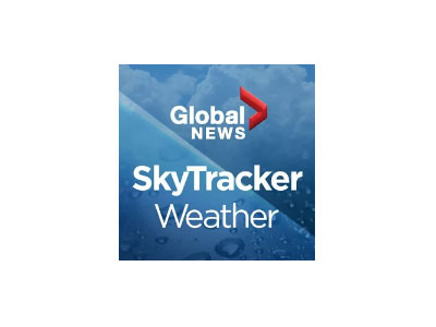 Global News Skytracker - Weather news and user generated content. You can submit photos and video and share content via email and Twitter and Facebook. Also get the  latest regional, national and international weather-related news.	Highest resolution satellite cloud imagery available. 	Fully integrated GPS for current location awareness!