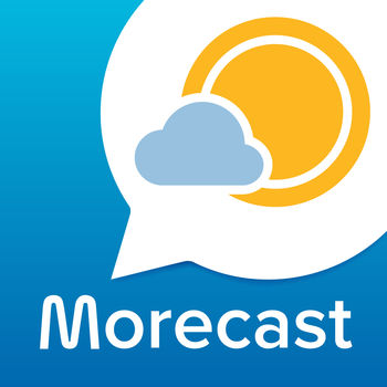"Weather & Radar - Morecast App - MORECAST is Your FREE Premium Weather App!The MORECAST weather app provides you and millions of other users the most precise, hyper-local weather forecast data for your current location. This FREE iPhone app features hourly weather forecasts, detailed wind speed and wind gust info, a snow storm tracker, rain radar, navigation weather and webcams. MORECAST is your weather companion for Melbourne, Sydney, NYC, Los Angeles and all other worldwide locations.Download the MORECAST app now for FREE!? Pinpoint WeatherPrecise weather is available at a street-level accuracy for your current location or favourite locations, including Sydney, Melbourne, Brisbane, NYC and all other worldwide locations.MORECAST is backed by global weather forecast data from more than 28,000 weather stations. ? Rain RadarVisualize by the minute precipitation on our rain radar map. ? Navigation Weather Track the weather and extreme situations along your route in our Navigation Weather feature, to make every vacation a safe journey.? CompareCompare the weather for two locations side-by-side, so you can always make the best decision. ? WebcamsLive webcams with the local temperature are available for Sydney, Melbourne, Brisbane, Perth and more than 100,000 other locations worldwide.? ShareShare your best weather moments with your friends and family. Engage with our community and contribute local weather alerts and warnings to notify others of extreme weather situations.? Weather GraphsVisualize any weather situation in our easy to use interface with detailed hyper-local forecasts in 24 hour, 3 day and 7 day graphs.WEATHER FORECAST DATA FOR STREET LEVEL, BY THE MINUTE FORECASTS1. Temperature: in °F or °C, hyper-local forecasts for 24/7 remote temps, for the current temperature, daily maximum and minimum and hourly forecasts2. Wind: Wind direction and wind speed in mph, km/h or knots3. Precipitation: By the minute precipitation, storm tracker with rain and snow probability and amount in inches, mm or l/m²4. Humidity: By the hour in %5. Cloud coverage: Actual and forecasted cloud coverage in % on graphs6. Sunshine Duration: The amount of sunshine for today and the next 7 days7. UV index: Hourly UV index info8. Sunrise and sunset: Times for the next 3 days9. Air pressure: In hPa by the hour and for the next 7 daysWHY MORECAST?MORECAST is an advanced iOS weather app providing comprehensive weather forecast data and rain radar for San Francisco, Chicago, NYC, Los Angeles and all other worldwide locations.MORECAST uses weather forecast data and rain radar from the local national weather services as BOM and from the MORECAST Data Centres. We ensure you have the highest quality of meteorological data available, in order to alert you of upcoming storms, thunderstorms, rain and snow.FEEDBACKAfter you install the iOS MORECAST Weather Application, you can send us feedback via a short in-app form.PRIVACYPlease find important links below:- Privacy Policy & terms of Use: http://morecast.com/content/uploads/2015/07/EN.pdfSUPPORTFor any questions or issues, please visit in-app the MORECAST Help Centre page or contact our support team at support@morecast.com.FOLLOW US? Facebook https://www.facebook.com/morecast? Twitter https://twitter.com/morecast? Instagram https://instagram.com/morecast/INFOFor more information about MORECAST - The Free Premium Weather App visit: www.morecast.comUSER REVIEWS""I love it… Mr MORECAST has it all."" – Matt N., Aug. 2015""Superb! Fantastically clear, useful app—and for free! Excellent!"" – Daniel R., Aug. 2015""Best weather app I\'ve ever used. Very easy to use and looks lovely."" – Kelvin B., Aug. 2015"