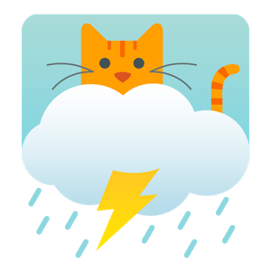 Weather Whiskers App & Widget - Weather + Cat = Weather Whiskers! Get pawsome free weather updates with our PURRRfect kitty cat themed weather app and widget! Weather Whiskers brings you an accurate weather forecast translated into LOLspeak and paired with a cat dressed for the weather! Really though, what's better than a kitty telling you how to dress for the day? Did we mention the app is free?! WETHR WHISKRS FEATUREZ: • Current weather• 4-Day Furrcast • A kitty cat tells u wut 2 wear• LOL-Speak kitty commentary• See Many Citiez • Landsc8p mode• Purrrty colors• Lotz of free content!• Themed cat litters 4 purchase!• Kitty everything. Srsly, so many cats.